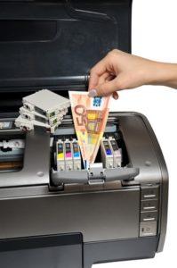 por qué algunas tintas de impresoras son tan caras